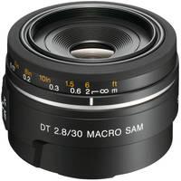 Sony SAL-30M28 30mm f/2.8 DT AF Macro Lens for