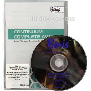Boris Continuum Complete 4.1 For Avx