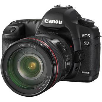 Canon EOS 5D Mark II Kit de cámara digital de Canon 24-105mm f/4L IS USM Lente AF