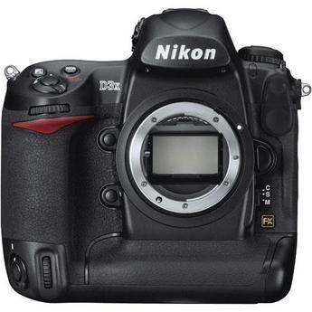 Nikon D3x SLR Digital Camera (Body Only) 25442 B&H Photo Video