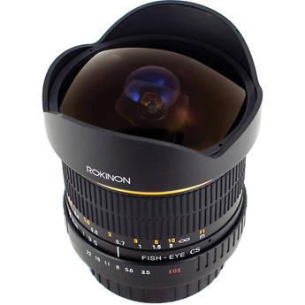Rokinon 8mm Ultra Wide Angle f/3.5 Fisheye Lens