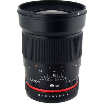 Sony 35mm f/1.4 Wide-Angle US UMC Aspherical Lens
