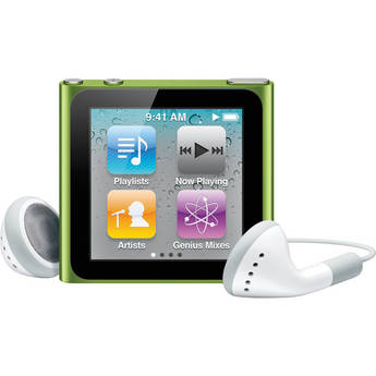 Apple 8GB Refurbished iPod nano 6th Generation (Green)