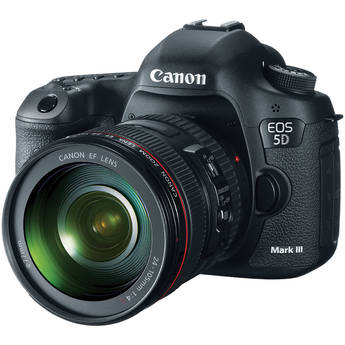 Canon EOS 5D Mark III Digital Camera Kit with Canon 24-105mm f/4L IS USM AF Lens