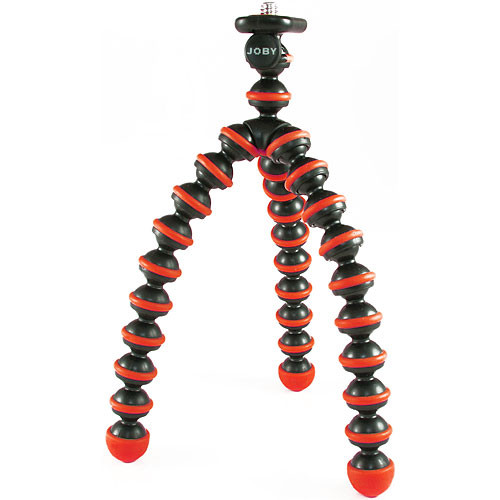 Joby Gorillapod Flexible Mini-Tripod for Point & Shoot Cameras - Red/Black