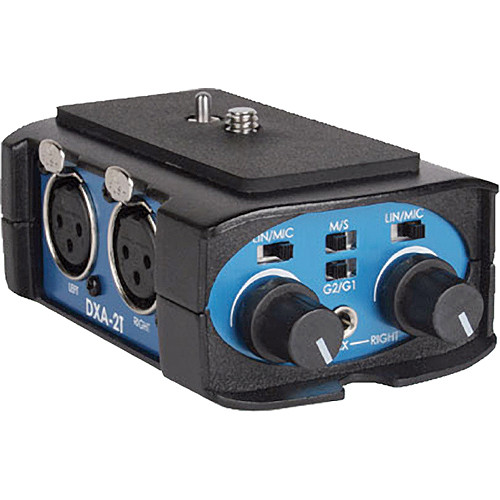 Beachtek DXA-2T Universal Compact Camcorder Audio Adapter