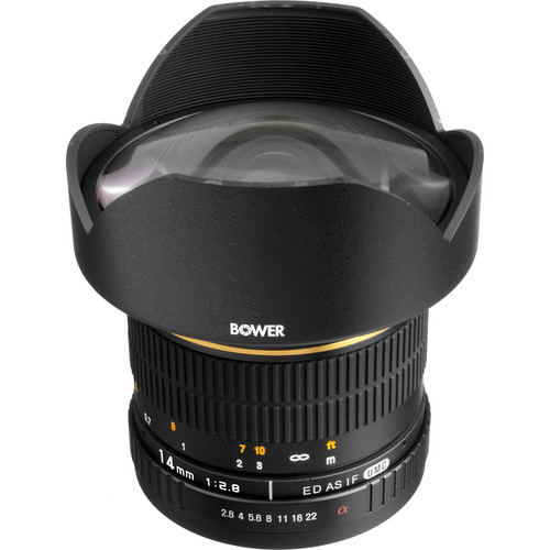 Bower 14mm f/2.8 Ultra Wide Angle Manual Focus Lens for Sony