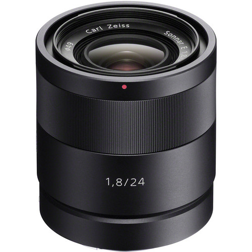 24mm f/1.8 E-Mount Carl Zeiss Sonnar Lens