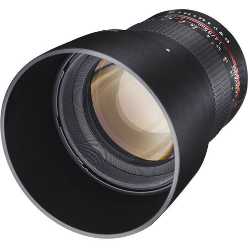 Samyang 85mm f/1.4 ASPHERICAL LENS