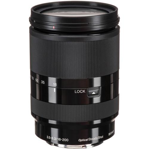 Sony 18-200mm f/3.5-6.3 OSS Lens - SEL18200LE