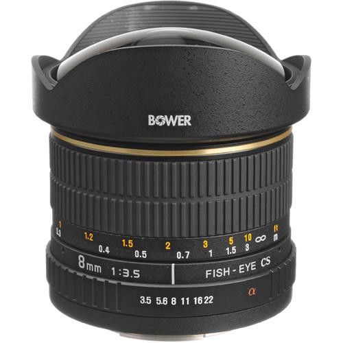 Bower SLY 358S 8mm f/3.5 Fisheye Lens For Sony