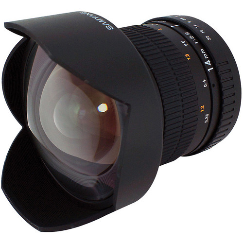 Samyang 14mm Ultra Wide-Angle f/2.8 IF ED UMC Lens For Sony