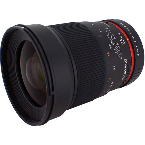 Samyang 35mm f/1.4 Wide Angle UMC Lens for Sony